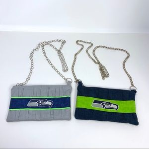 Seattle Seahawks cloth purses